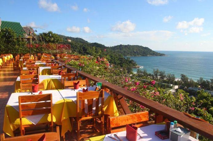 Рестораны пляжа Ката на Пхукете