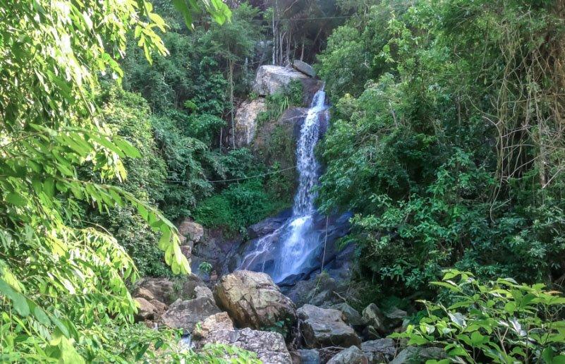 Водопад Secret Falls