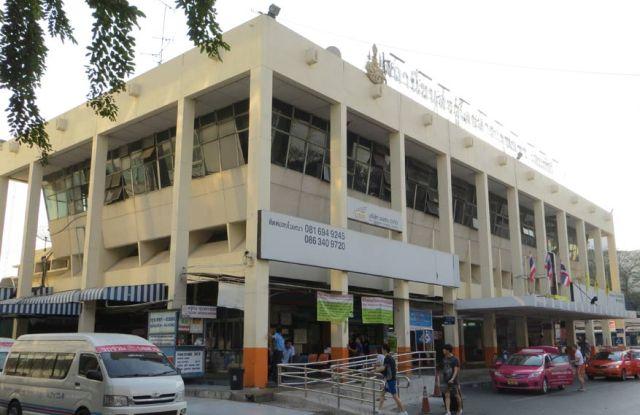 Восточный автовокзал в Бангкоке