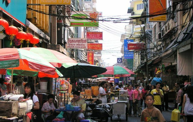 рынок в китайском квартале Чайна-таун