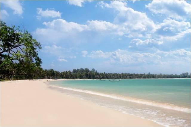 Пляж Паквип в Као Лак
