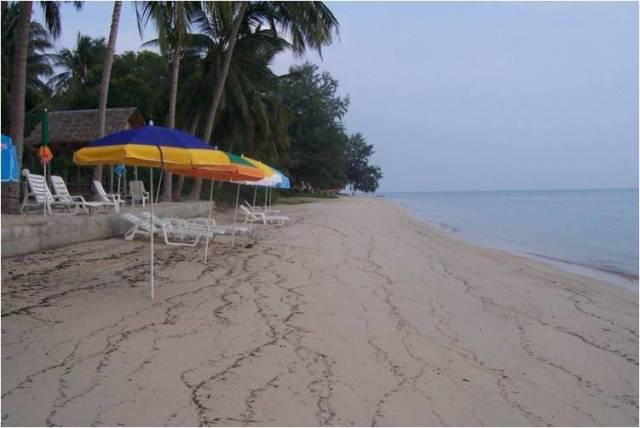 Пляж Тонг Сала на Пангане