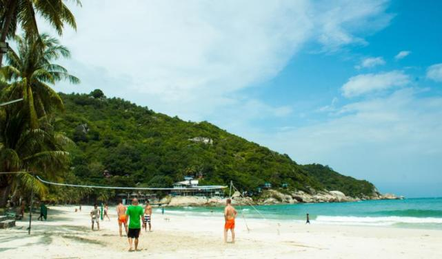 Пляж Хаадм Рин Нок на Пангане