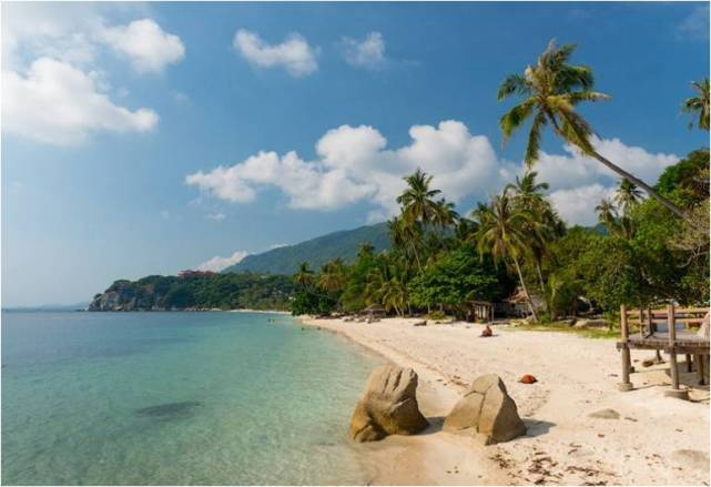 Пляж Хаад Лила на Пангане