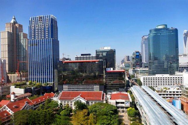 Район Плоенчит роуд в Бангкоке