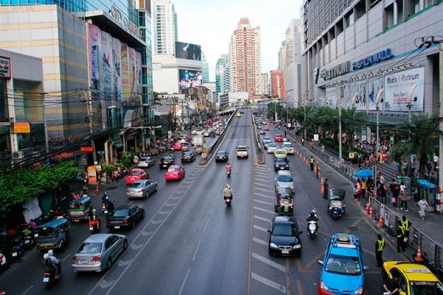 Район Пратунам в Бангкоке