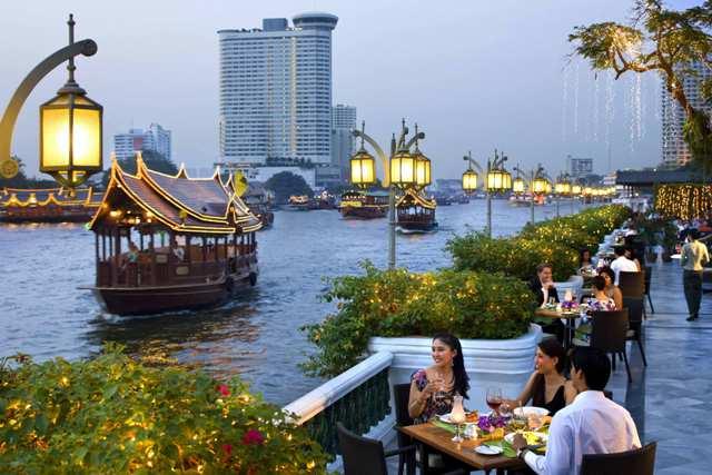Район Риверсайд в Бангкоке