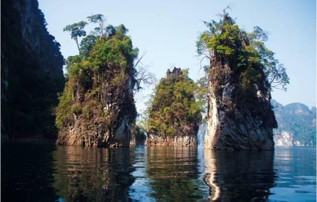 бухта Guilin на озере Чео Лан