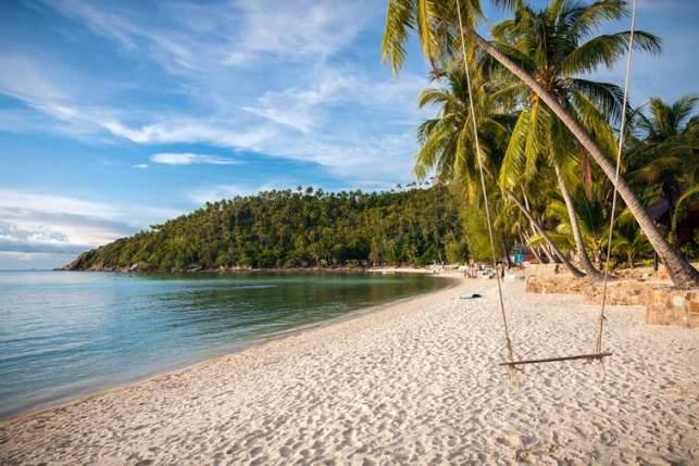 Пляж Хаад Салад на Пангане