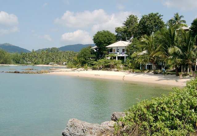 Пляж Шри Тхану на Пангане