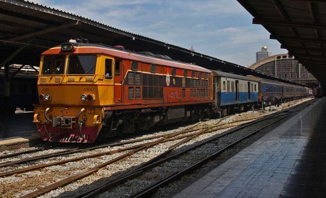 Как добраться из Бангкока до Пангана на поезде
