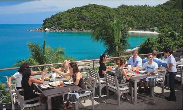 Ресторан The Cliff на Самуи