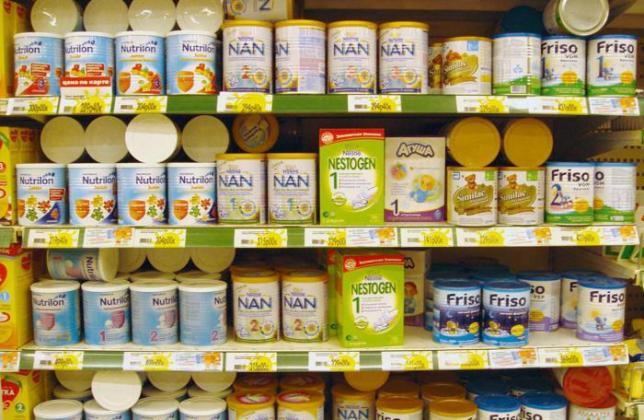 Молочные смеси в Тайланде