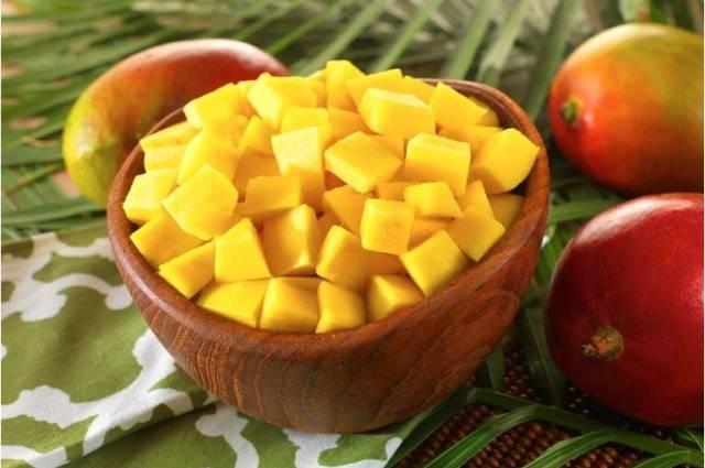 Как кушать манго