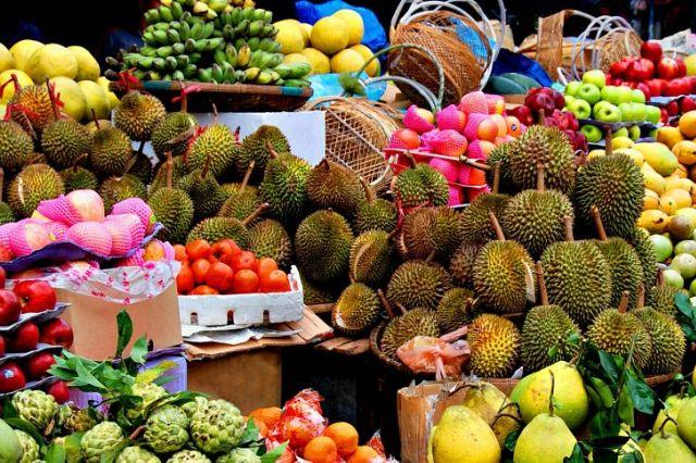 Фруктовый рынок в Паттайе