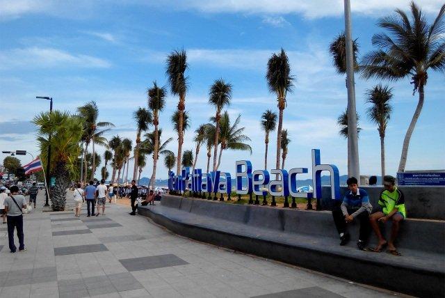 Пляж Джомтьен в Паттайе