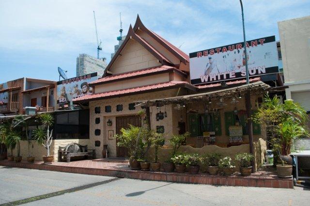 Ресторан Белое солнце в Паттайе