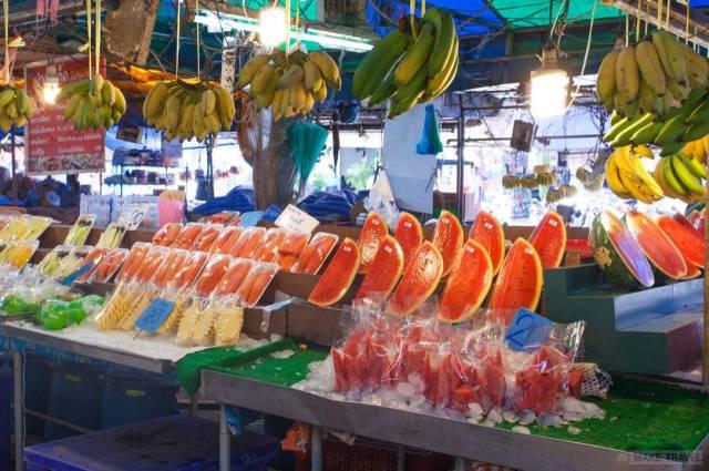 рынок Maharat market краби