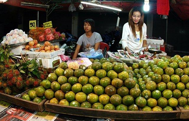 Рынок в Краби