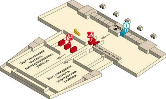 Аэропорт Краби схема-3