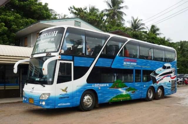 автобус краби-самуи