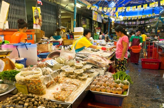 Рынок Chat Chai Marke в Хуа Хине