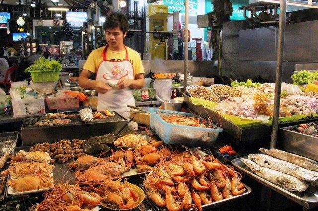 Рынок Hua Hin Night Market в Хуа Хине
