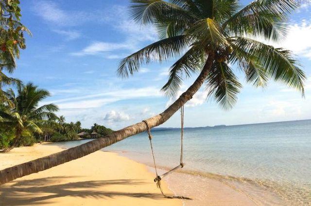 пляж Ао Као на Ко Мак