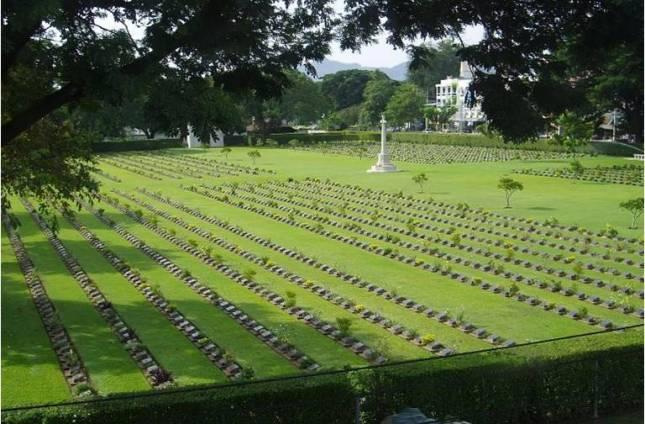 Военное кладбище Chongkai