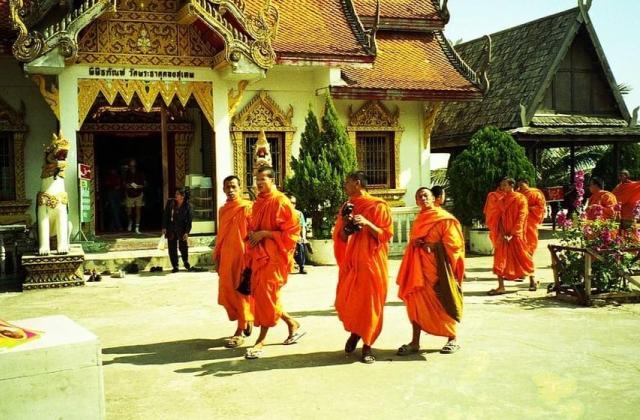 Бирманский храм Sai Moon Muang в Чиангмае