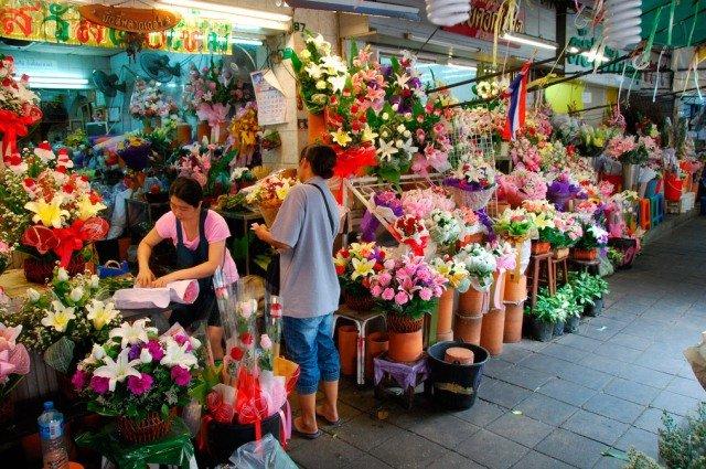 Рынок Ton Lamyai market