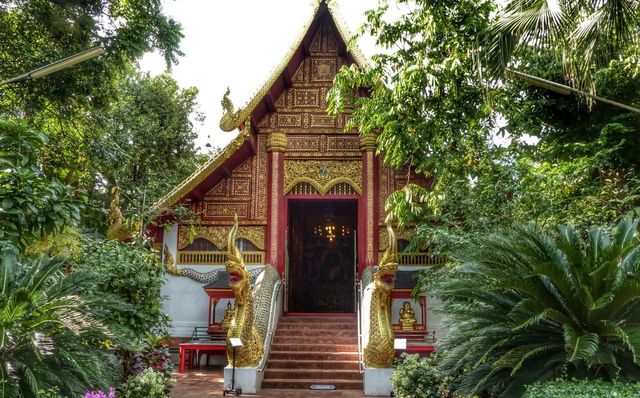 Храм Wat Phra Kaew в Чианграе