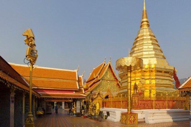 Храм Wat Phrathat Doi Suthepв Чиангмае