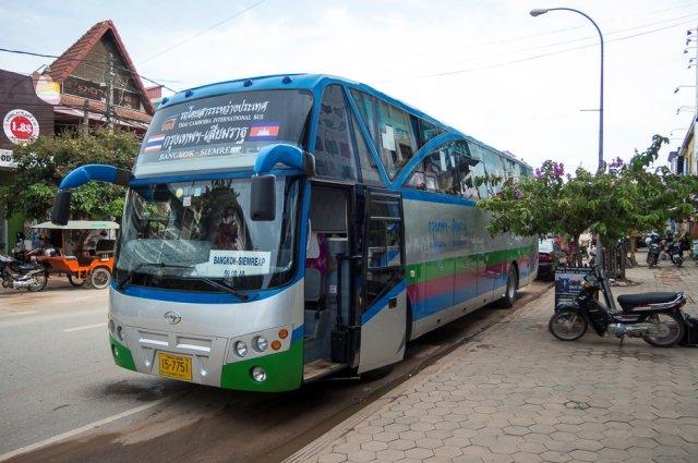 автобус Паттайя0Чиангмай