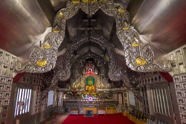 Серебряный храм в Чиангмае
