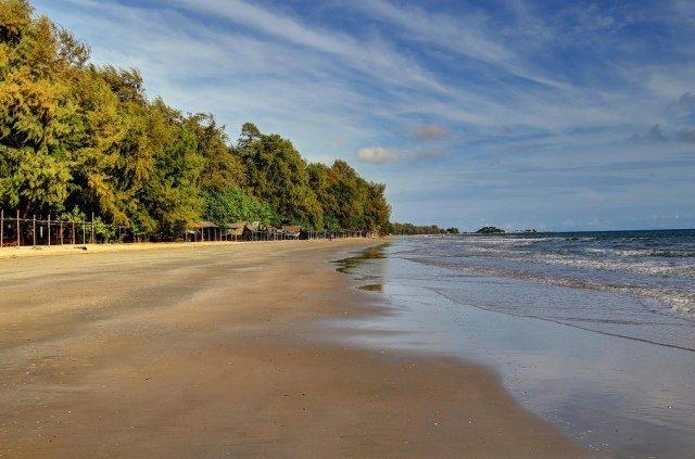 Пляж Hat Suan Son в Районге