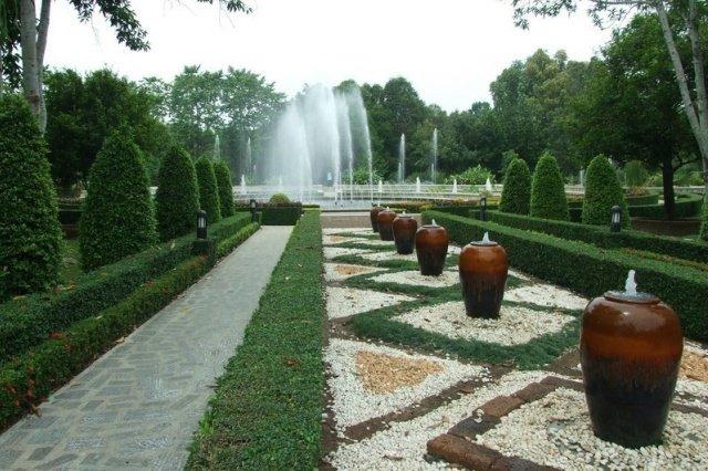 Сад принцессы Маха Чакри в Районге