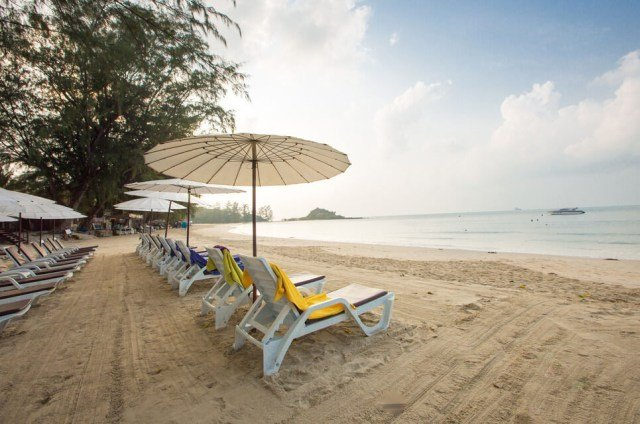 Пляж Чонг Мон на Самуи