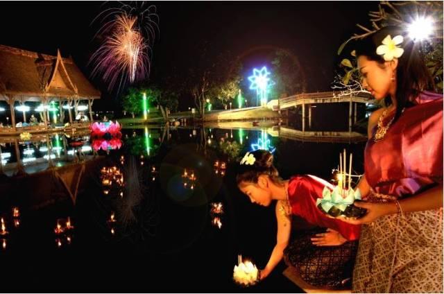 Праздник Лои Кратонг в Тайланде