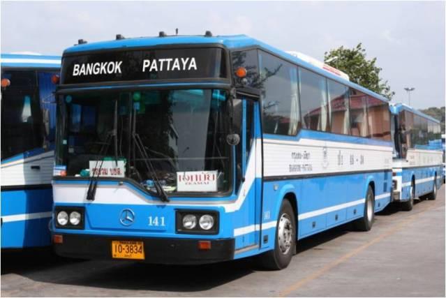 Автобус Бангкок-Паттайя