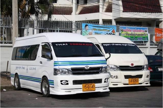 Минивен Паттайя-Бангкок
