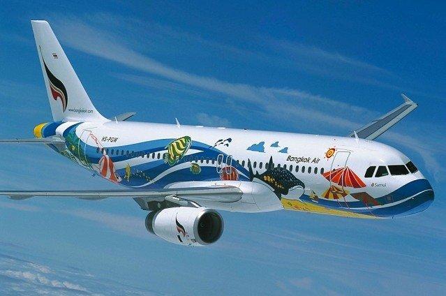 Самолет Bangkok Airways
