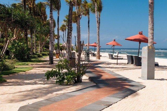 Пляж Нуса-Дуа на Бали