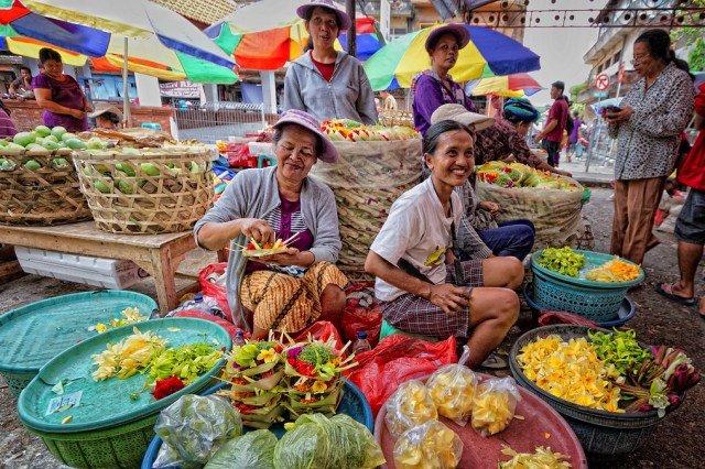 Pasar Badung на Бали