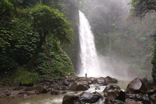 Водопад Nung Nung на Бали