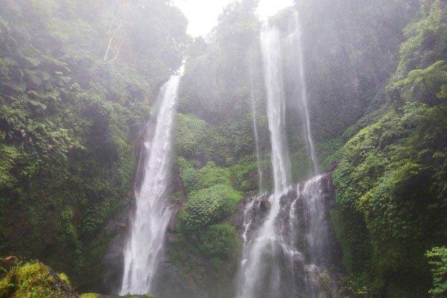 Водопад Sekumpul на Бали
