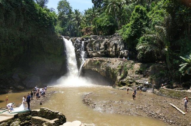 Водопад Tegenungan на Бали