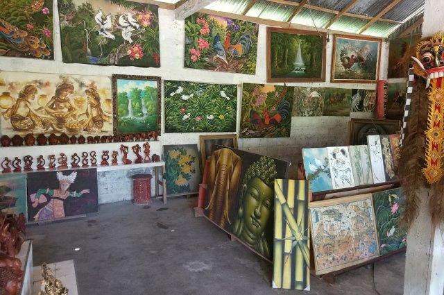 Картины на Бали