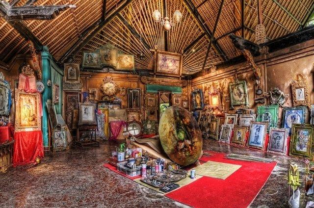 Музей Антонио Бланко на Бали