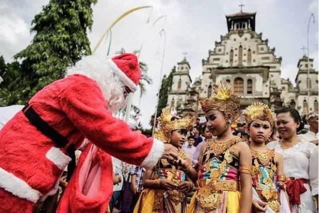 Рождество на Бали